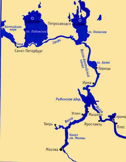Где находится волго донский канал